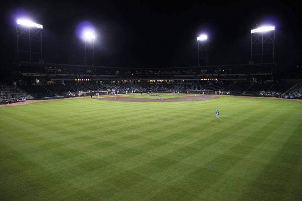 Winston-Salem outfield