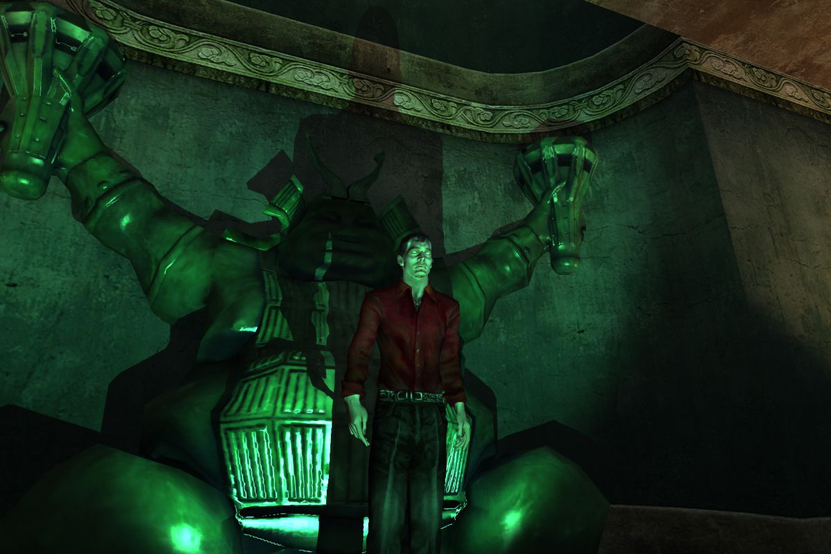 Vampire The Masquerade Bloodlines 1920x1080: Fan-developed Remake Of Vampire: The Masquerade Shut Down