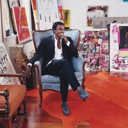 """<b>Marcus Samuelsson</b>:  Samuelsson's Harlem flat doubles as an overflow space for exhibitions at the MoMa.  <i>[<a href=""""http://www.aboutlifestyles.info/search/apartment?page=27"""" rel=""""nofollow"""">Photo</a>]</i>"""