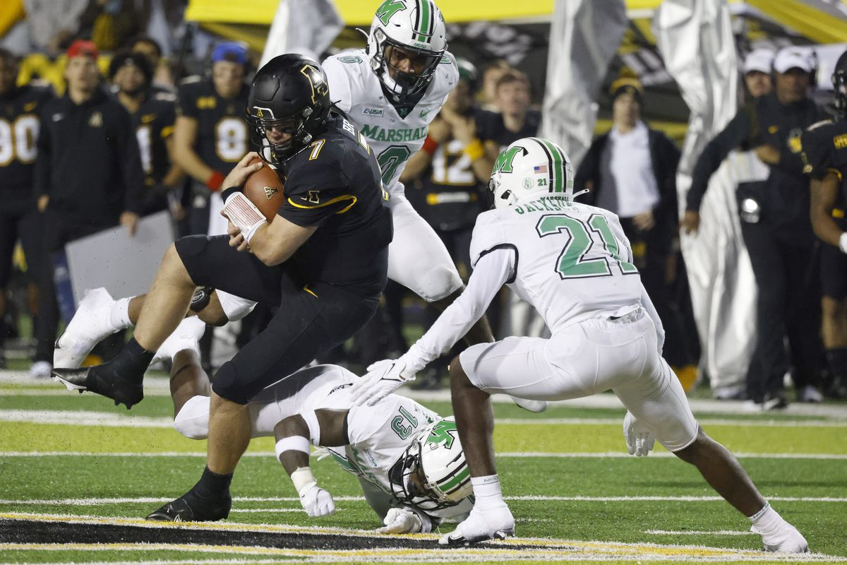 NCAA Football: Marshall at Appalachian State