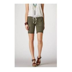 """Pocket Bermuda Short in Olive, $24.99 (on sale from $44.95) at <a href=""""http://www.ae.com/web/browse/product.jsp?productId=0334_3577_020&catId=cat3150141"""">American Eagle Outfitters</a>"""
