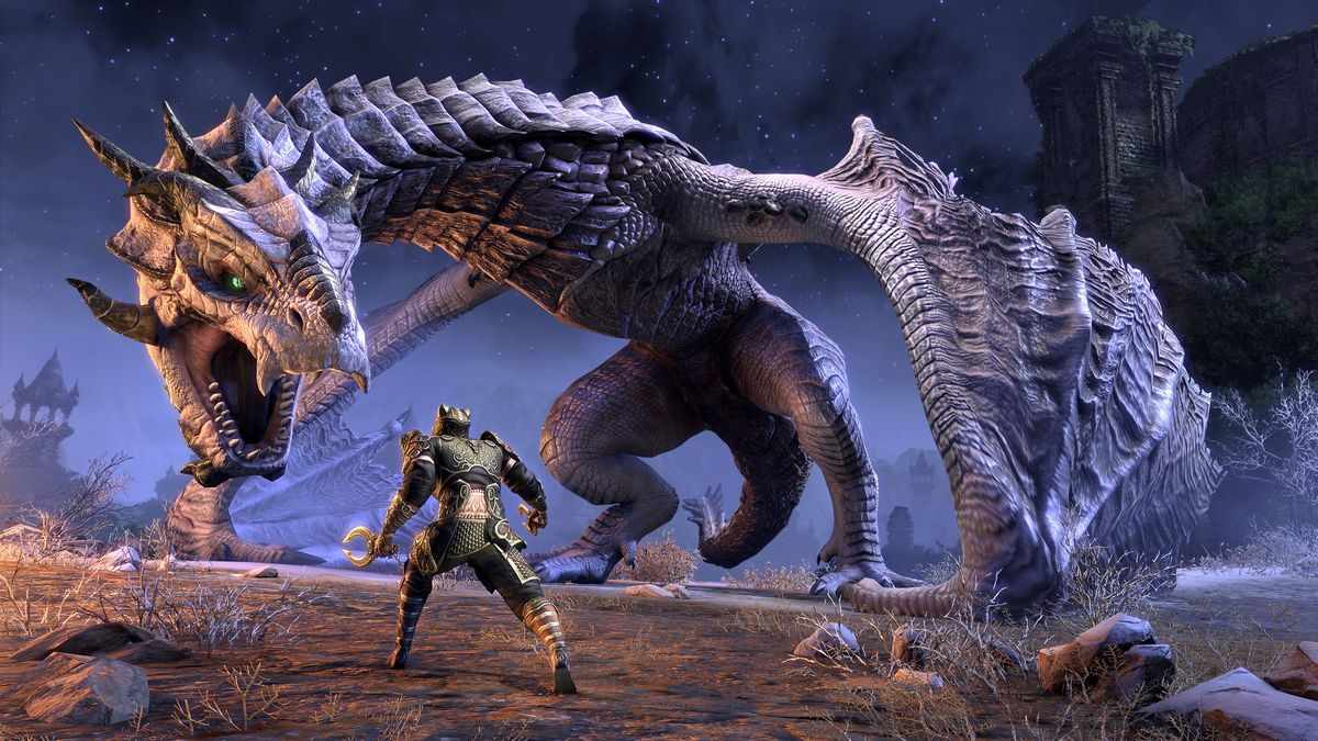 The Elder Scrolls Online: Elsweyr brings dragons to the fore - Polygon