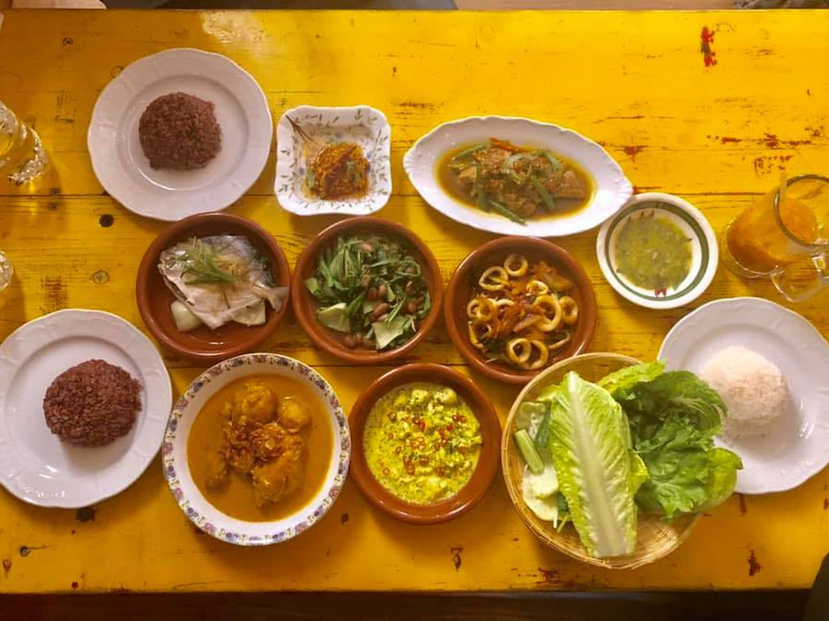 A selection of dishes at Mark Thai Food Box in U District