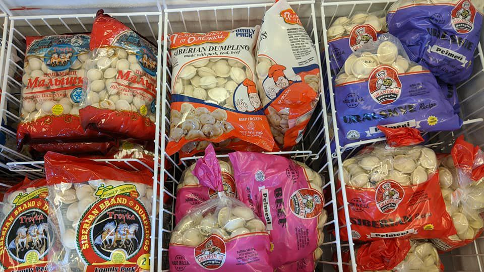 Frozen dumplings from Borderless European Market