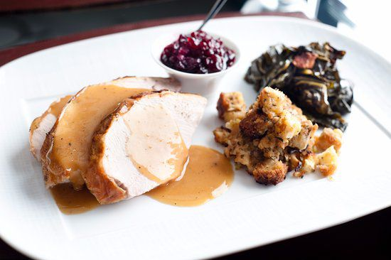 Thanksgiving meal at CUT