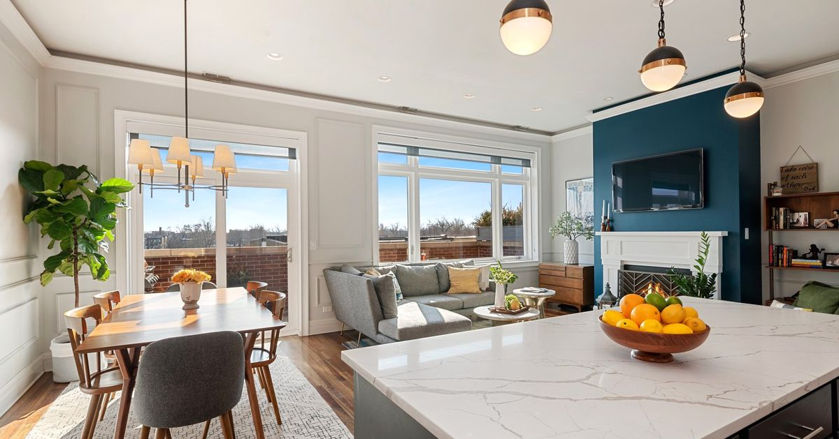 Get this chic three-bedroom penthouse in North Park for $380K