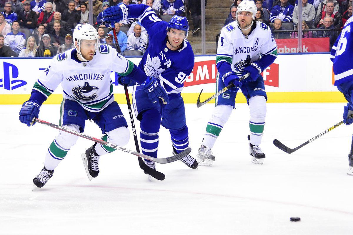NHL: JAN 05 Canucks at Maple Leafs