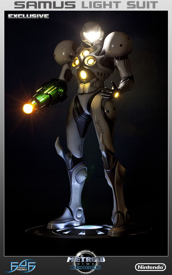 Metroid Prime 2 light suit Samus