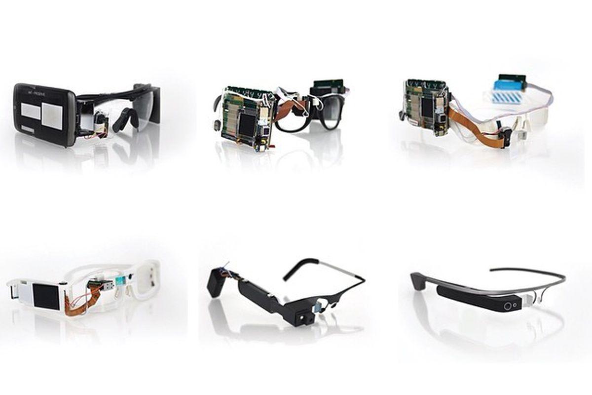 """The evolution of Google Glass; photo via Google Glass/<a href=""""http://instagram.com/googleglass"""">Instagram</a>"""