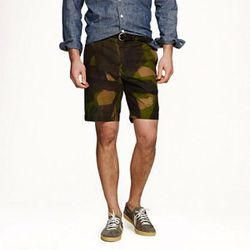 """The handpainted shorts from J. Crew should be a must on any stylish man's list. $220, <a href=""""http://www.jcrew.com/mens_category/shorts/heritageshorts/PRDOVR~01914/01914.jsp"""">J Crew</a>"""