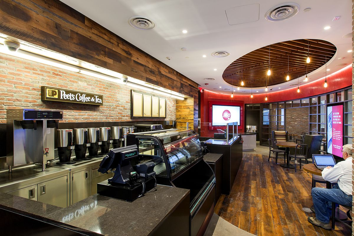 This Coffee Shop Bank Hybrid Is What S Finally Replacing Shoe Mania Racked Ny
