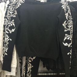 Sweater, size XS, $75 (was $168)
