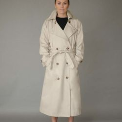 Kate trench coat, $1,095