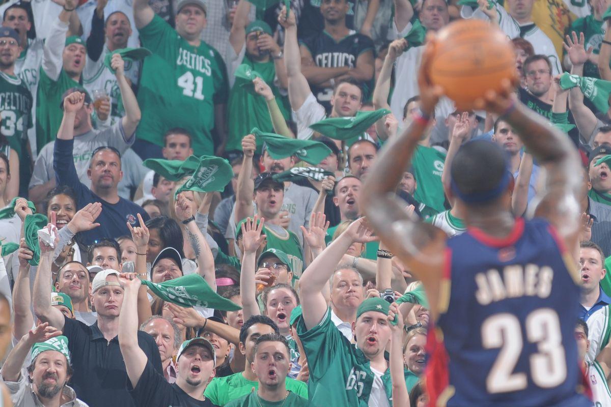 Cleveland Cavaliers v Boston Celtics, Game 2