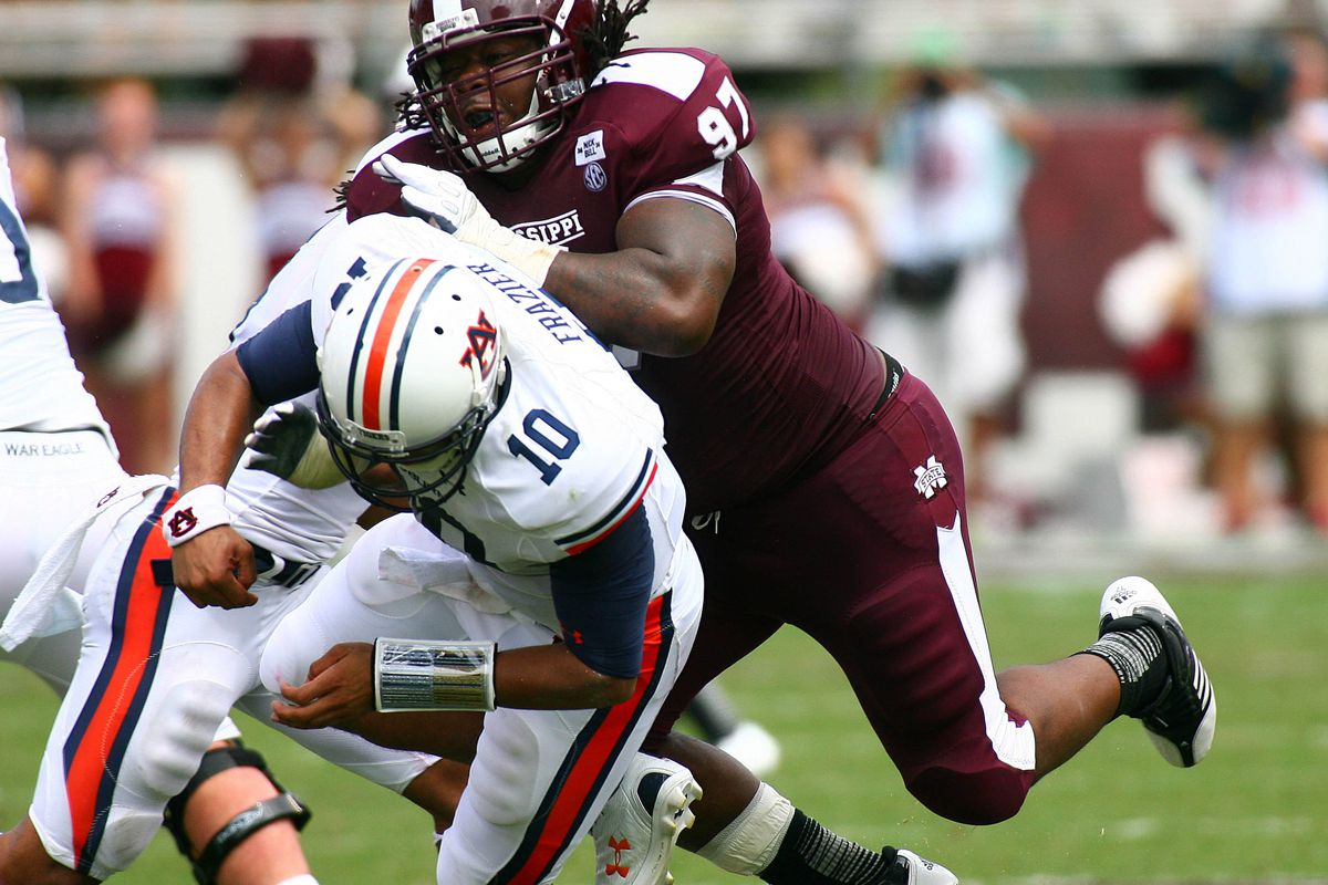 Mississippi State's defense hounded Kiehl Frazier all day.