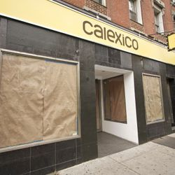 Calexico Greenpoint gets signage!