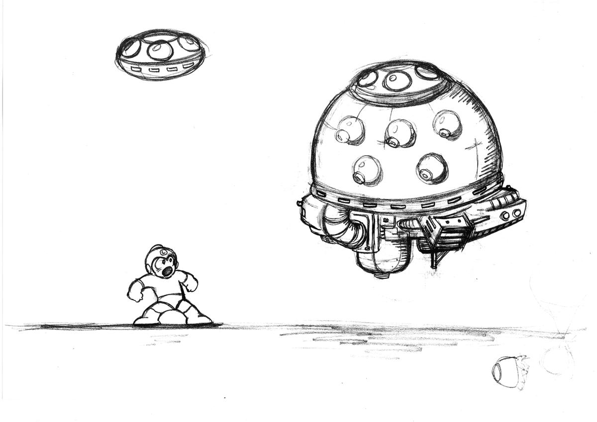 Mega Man sketch