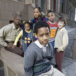 """Tyler James Williams, front, stars as the title character in """"Everybody Hates Chris."""""""