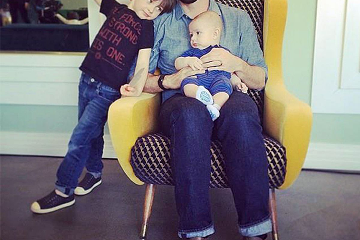 """Charlie Capen is the curator of the """"Hipster Dad"""" collection; Photo via <a href=""""http://shop.chairish.com"""">Chairish</a>"""