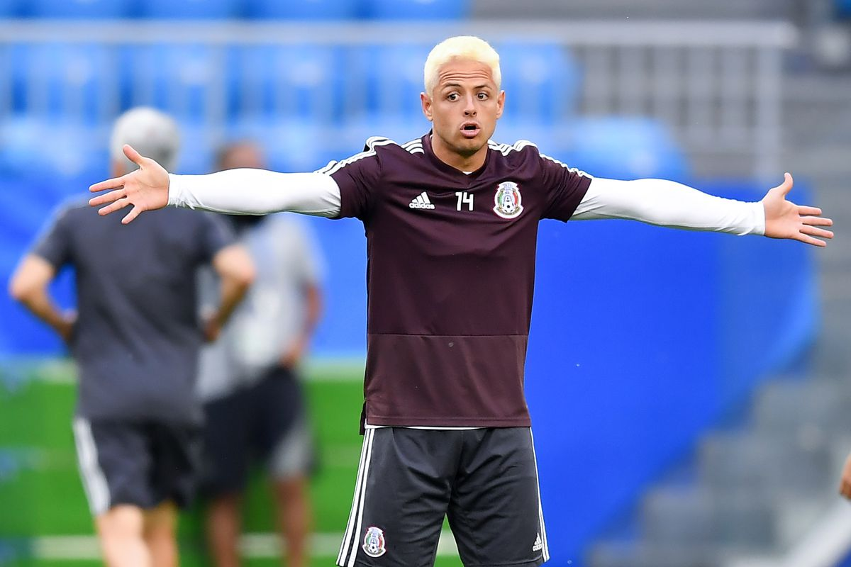 Mexico Training & Press Conferece - FIFA World Cup Russia 2018