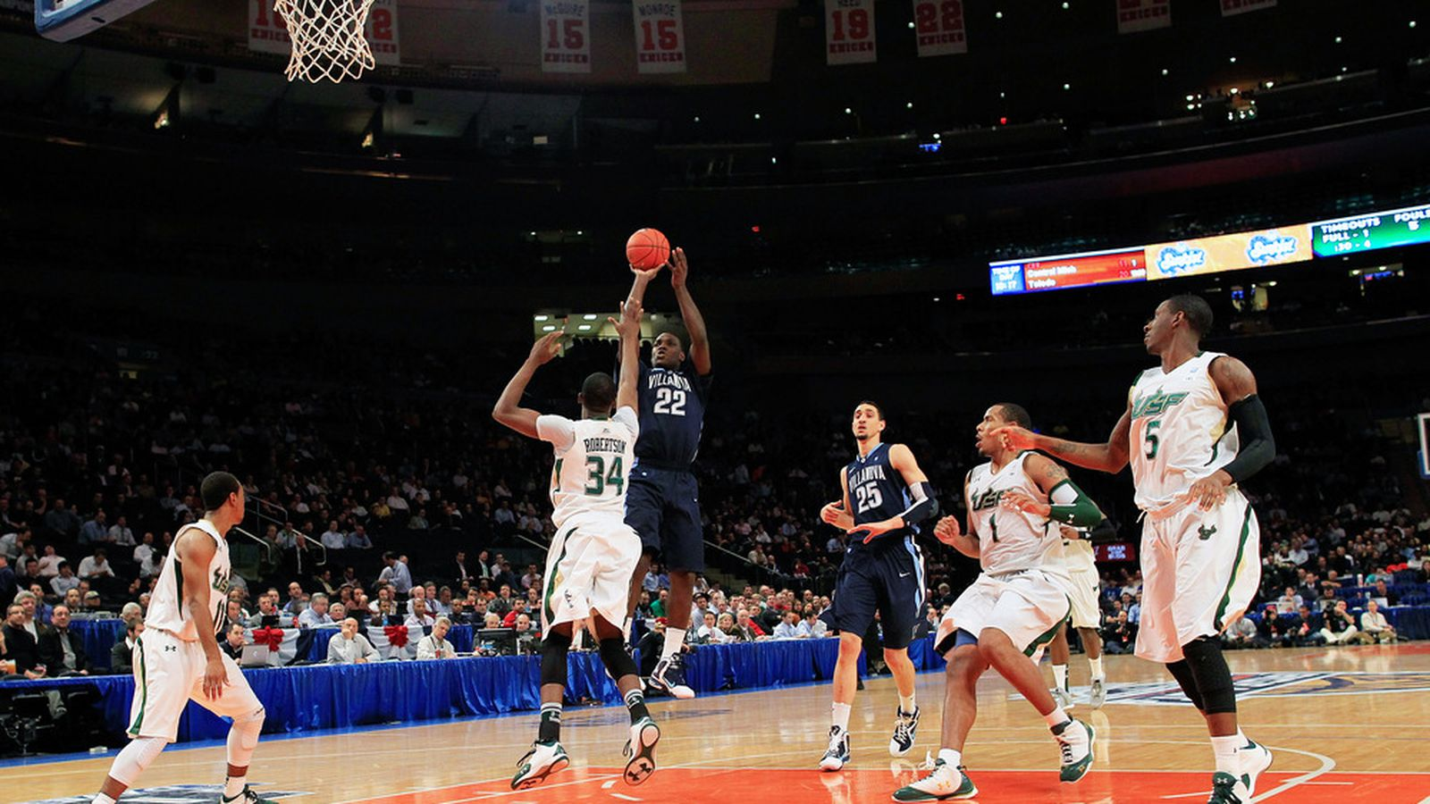 Big east to host 2014 ncaa tournament at msg vu hoops Madison square garden basketball