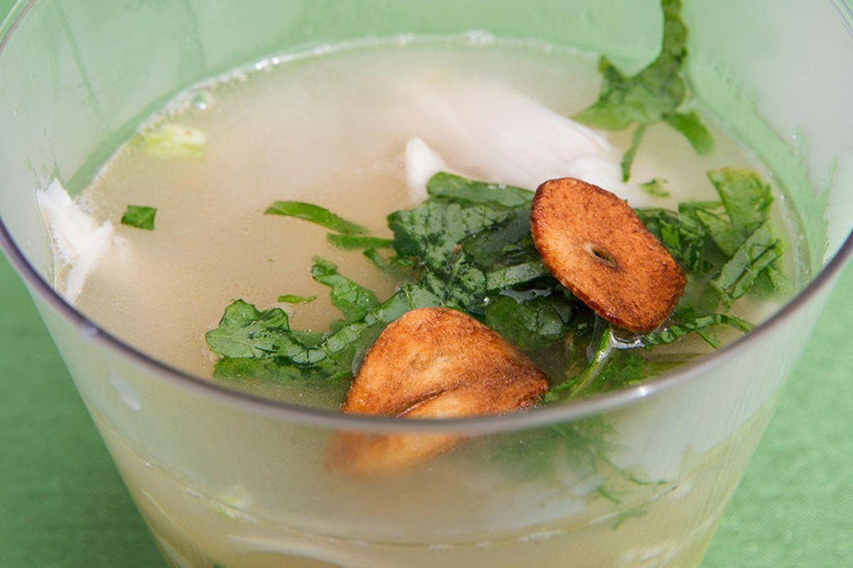 Fleming's Vietnamese brodo dish.
