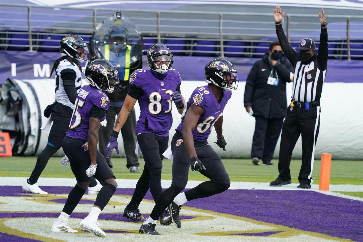 NFL: Jacksonville Jaguars at Baltimore Ravens