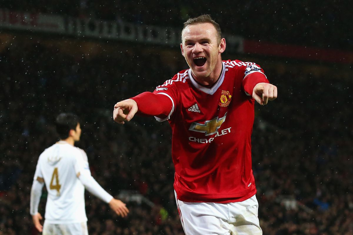 Back to his best? Wayne Rooney kicked off 2016 with a bang.