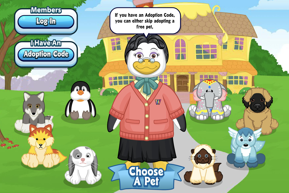 Webkinz deleted your account, but the mobile app provides a new ...