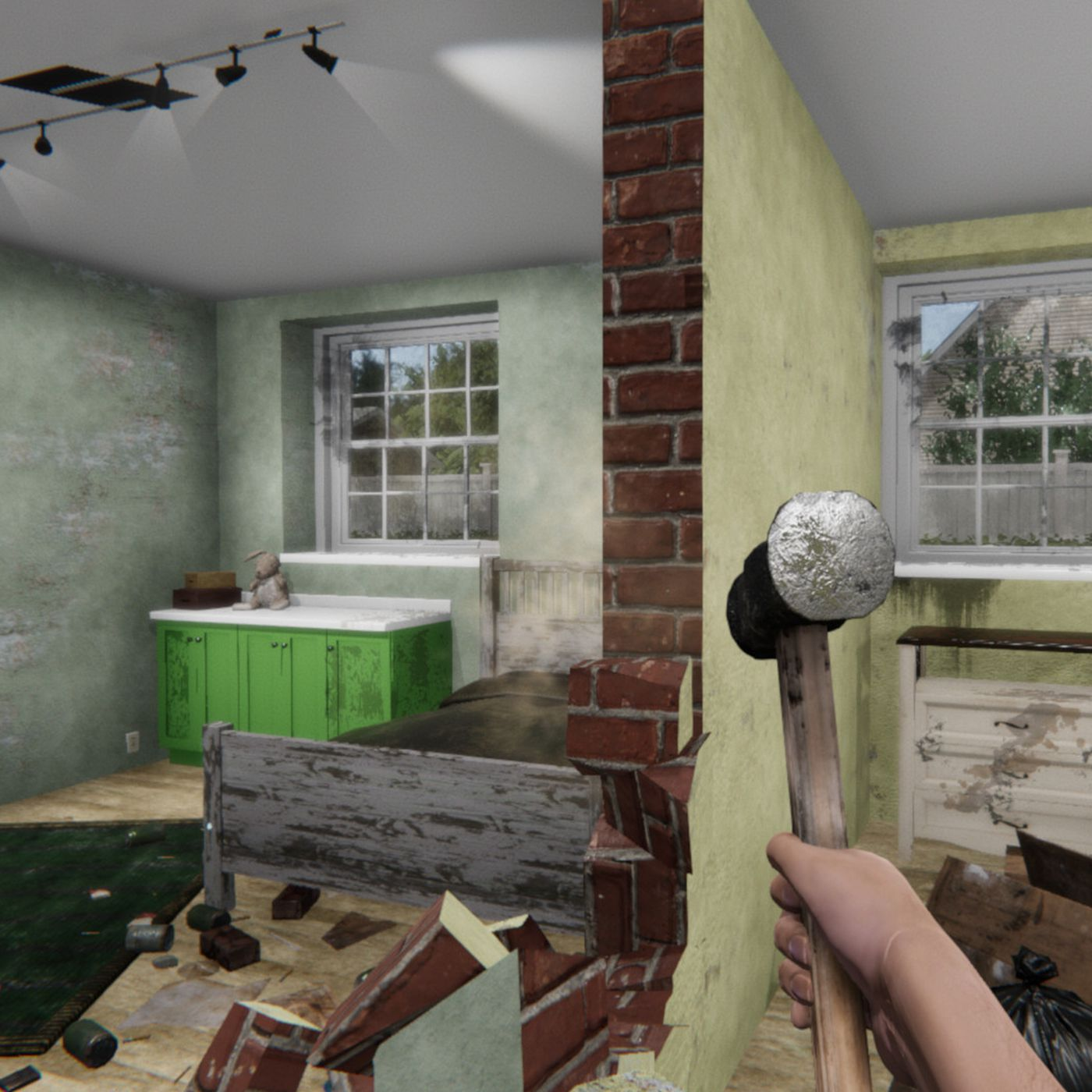 House Flipper Is A Home Repair Simulation Among Steams Best Sellers Building Wiring Games Polygon