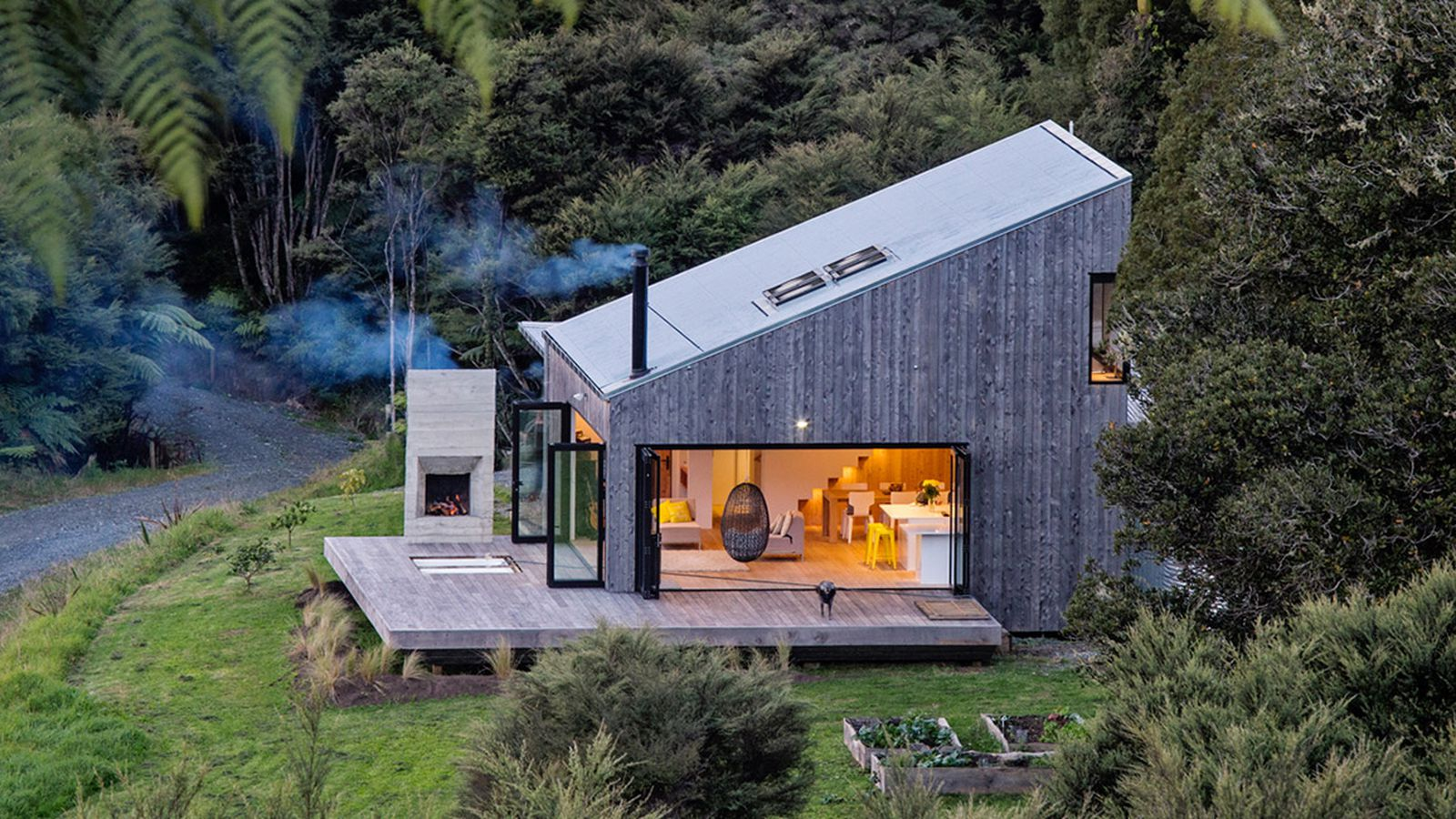 david maurice LTD architectural back country house puhoi new zealand designboom 1800.0 - Get Small House Interior Design Nz  PNG