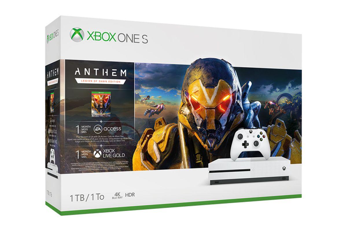 Anthem Xbox One bundle