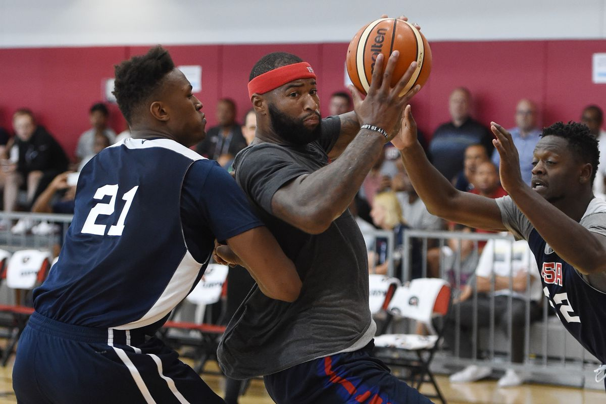 USA Basketball Showcase Practice Sessions