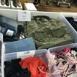 Cheap Monday swim ($10) and bags ($20)