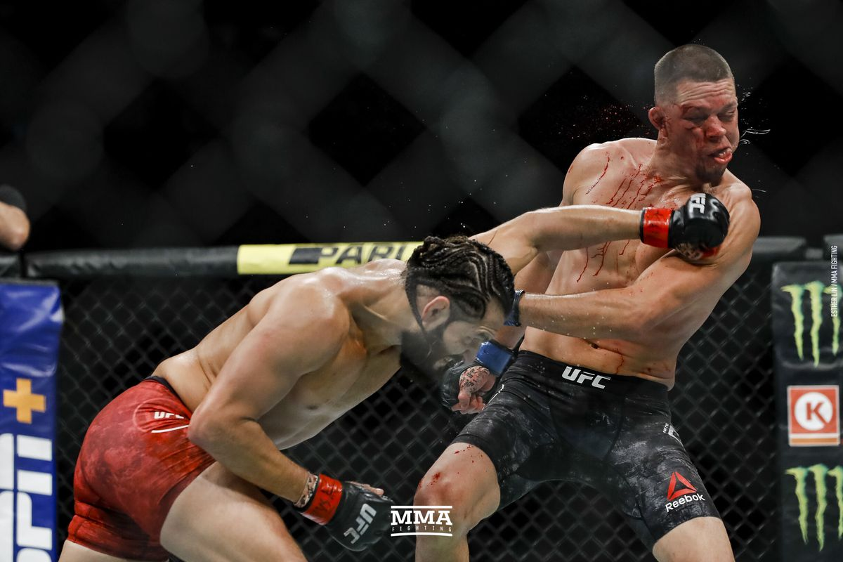 UFC 244 results: Jorge Masvidal wins BMF title with TKO against Nate Diaz following controversial doctor's stoppage - MMA Fighting