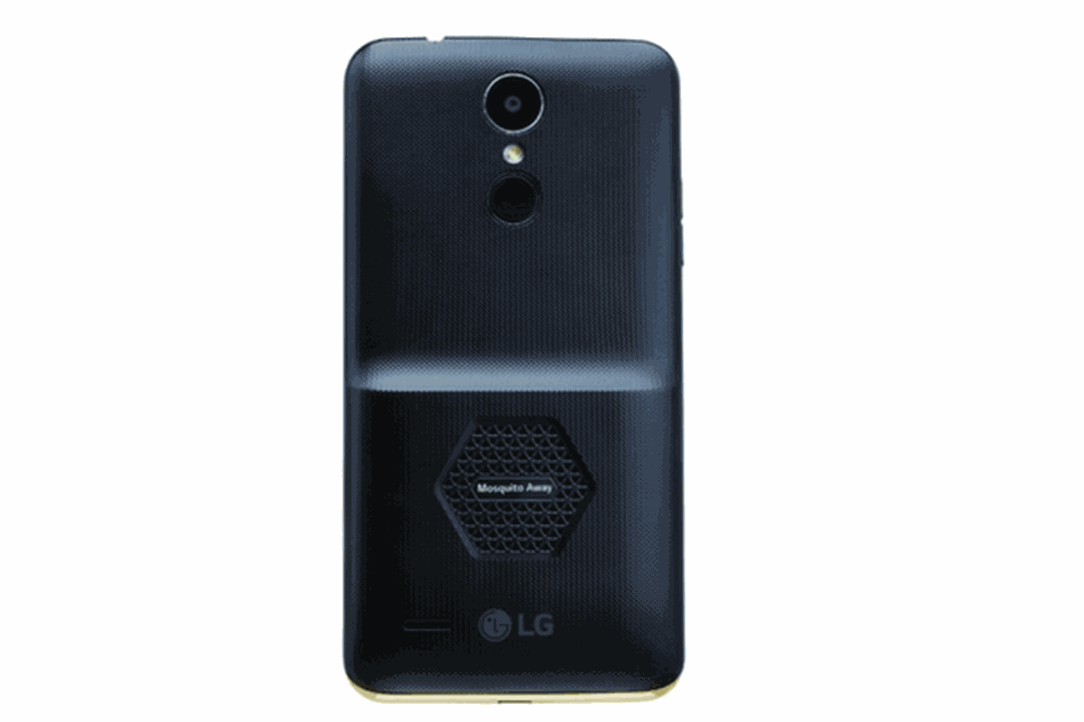 LG's newest smartphone features mosquito-repelling tech