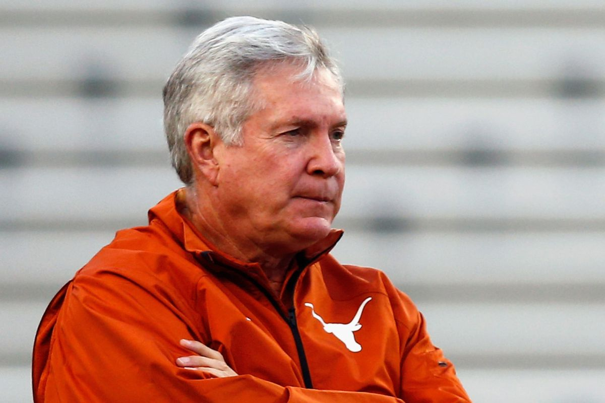 Is Mack Brown now the interim coach until Patterson can hire Graham in a few seasons?