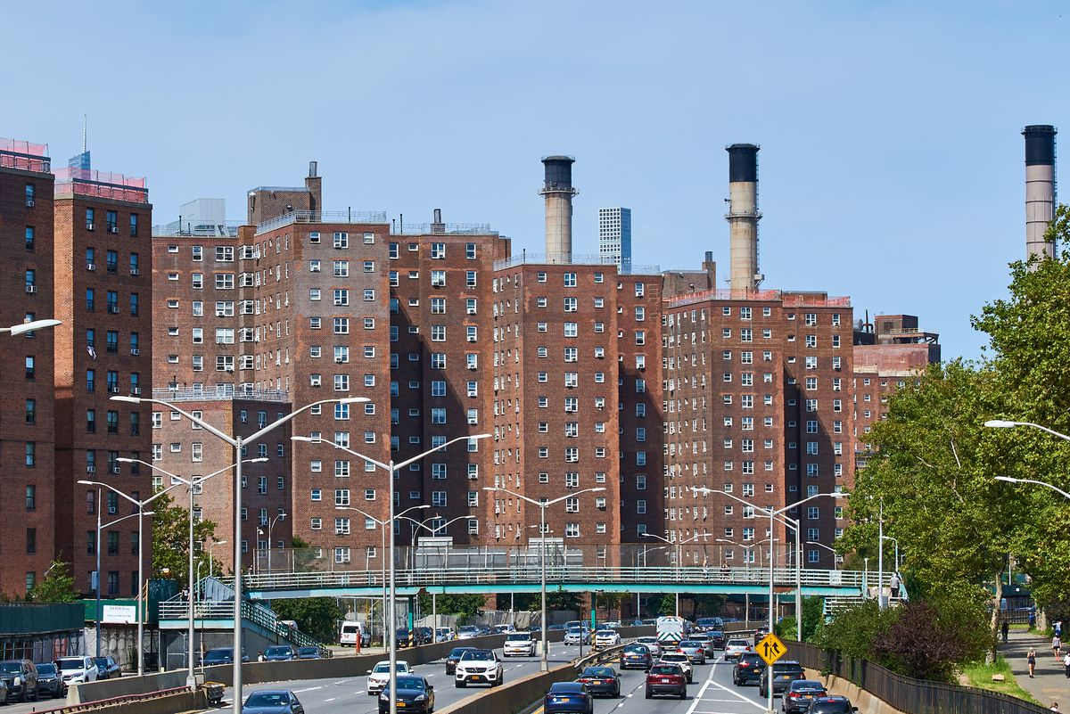 The Jacob Riis Houses in the East Village, Sept. 7, 2020.