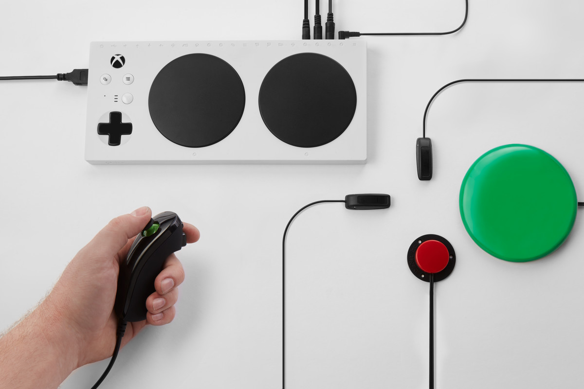 Microsoft Announces Xbox Adaptive Controller For Players With To Usb Wiring Diagram Has Announced The An Designed People Disabilities Device Was Leaked Earlier This Week
