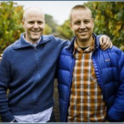 Duncan Arnot Meyers and Nathan Lee Roberts, of Sonoma's Arnot-Roberts. (source: Arnot-Roberts).