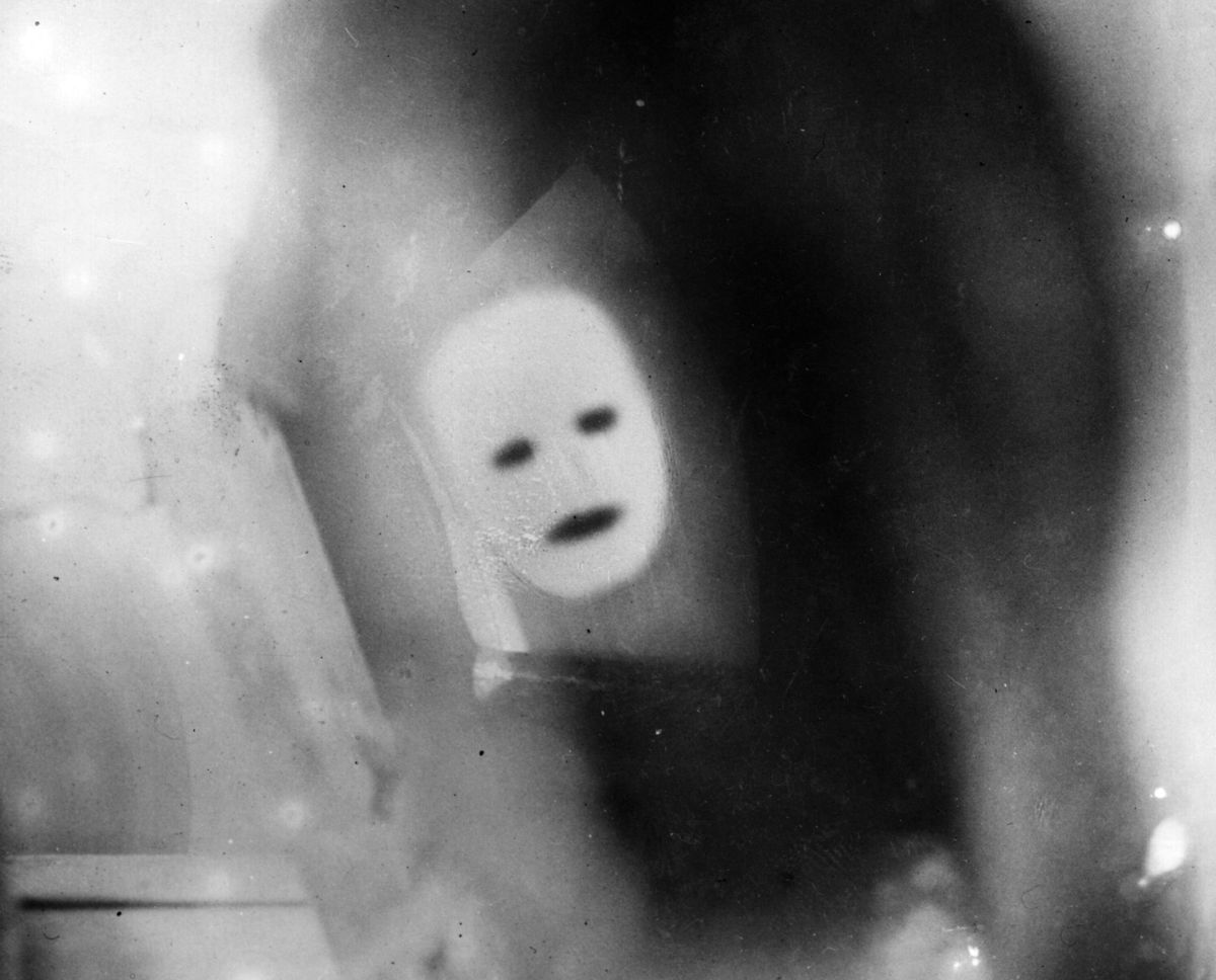 One of the first televised images.