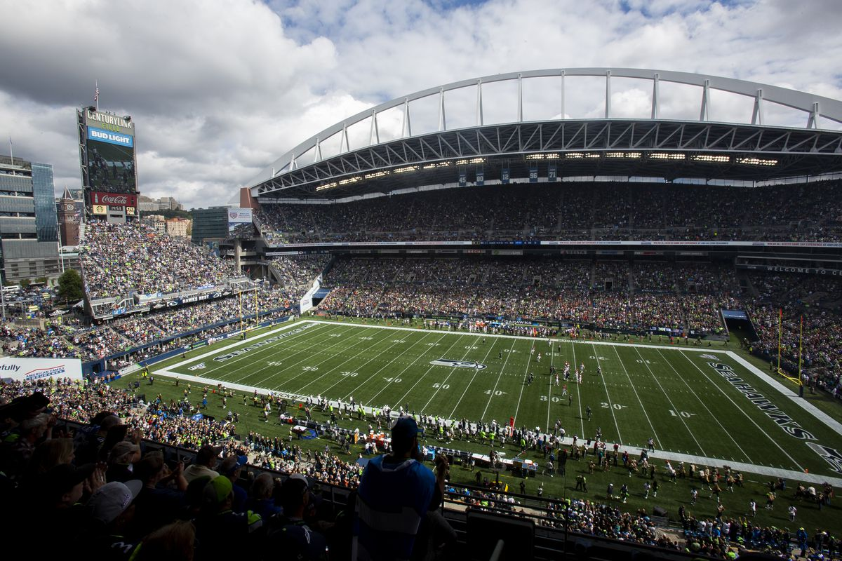 A general view of CenturyLink Field before the game between the Cincinnati Bengals and the Seattle Seahawks on September 8, 2019 in Seattle, Washington.
