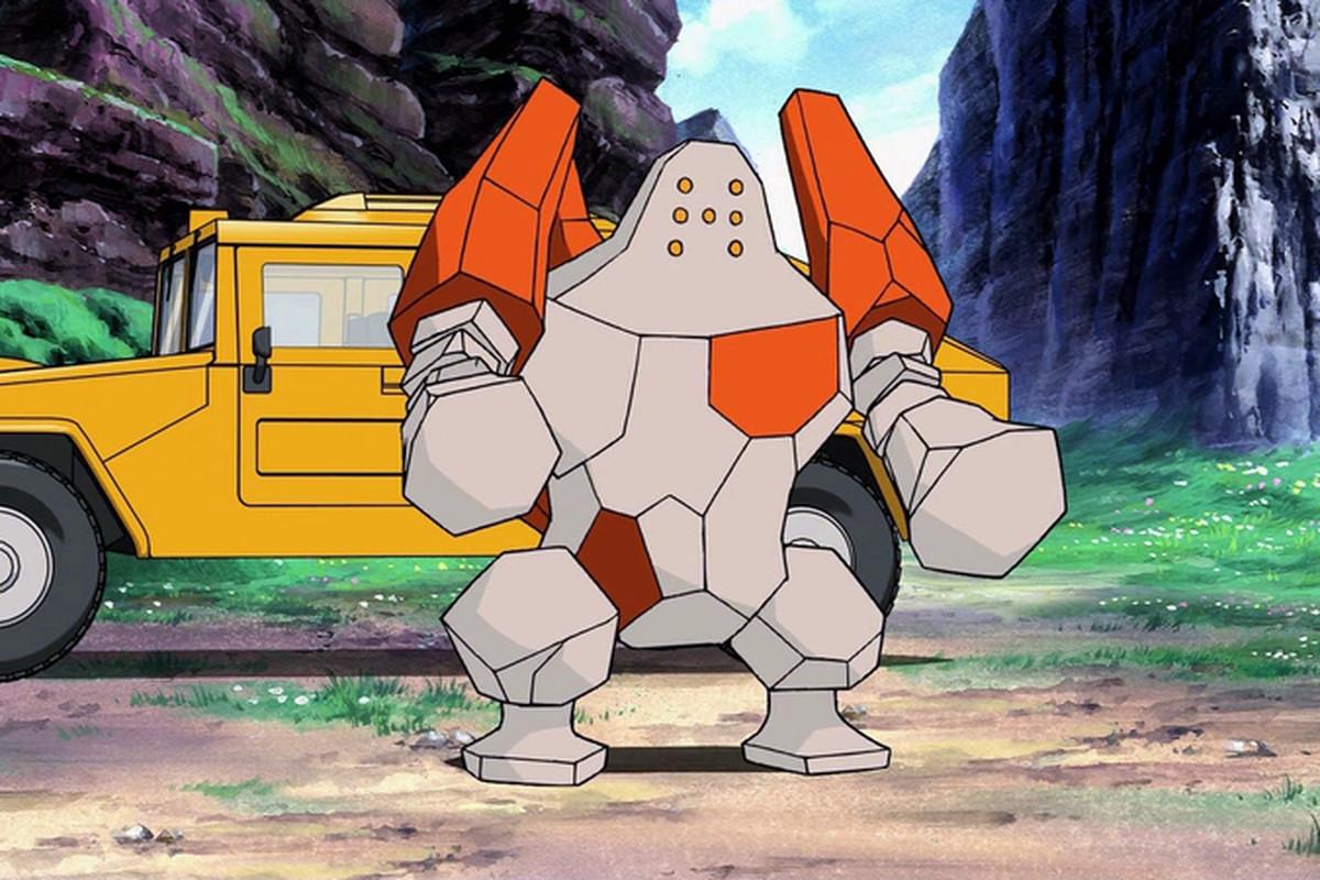 Pokémon Go's legendary Raid battles: Regirock dates - Polygon