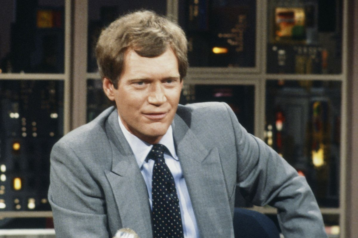 David Letterman in 1984, just before the debut of the first Top Ten List.