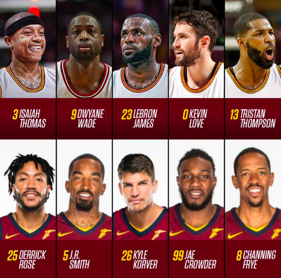 Cavs Players 2018 >> Nba Finals 2018 What If The Cavaliers Kept Their Opening
