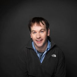 """FILE - In this Jan. 23, 2012 file photo, director/actor Mike Birbiglia of the film """"Sleepwalk With Me,"""" poses for a portrait during the 2012 Sundance Film Festival in Park City, Utah."""