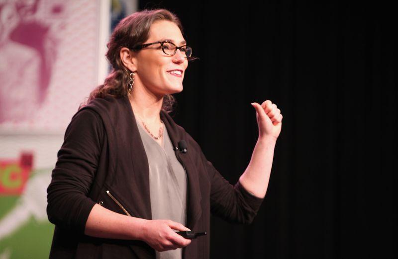 Haley Van Dyck, Alloy's CEO.