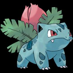 The best starter pok mon is bulbasaur polygon - Evolution pokemon diamant ...