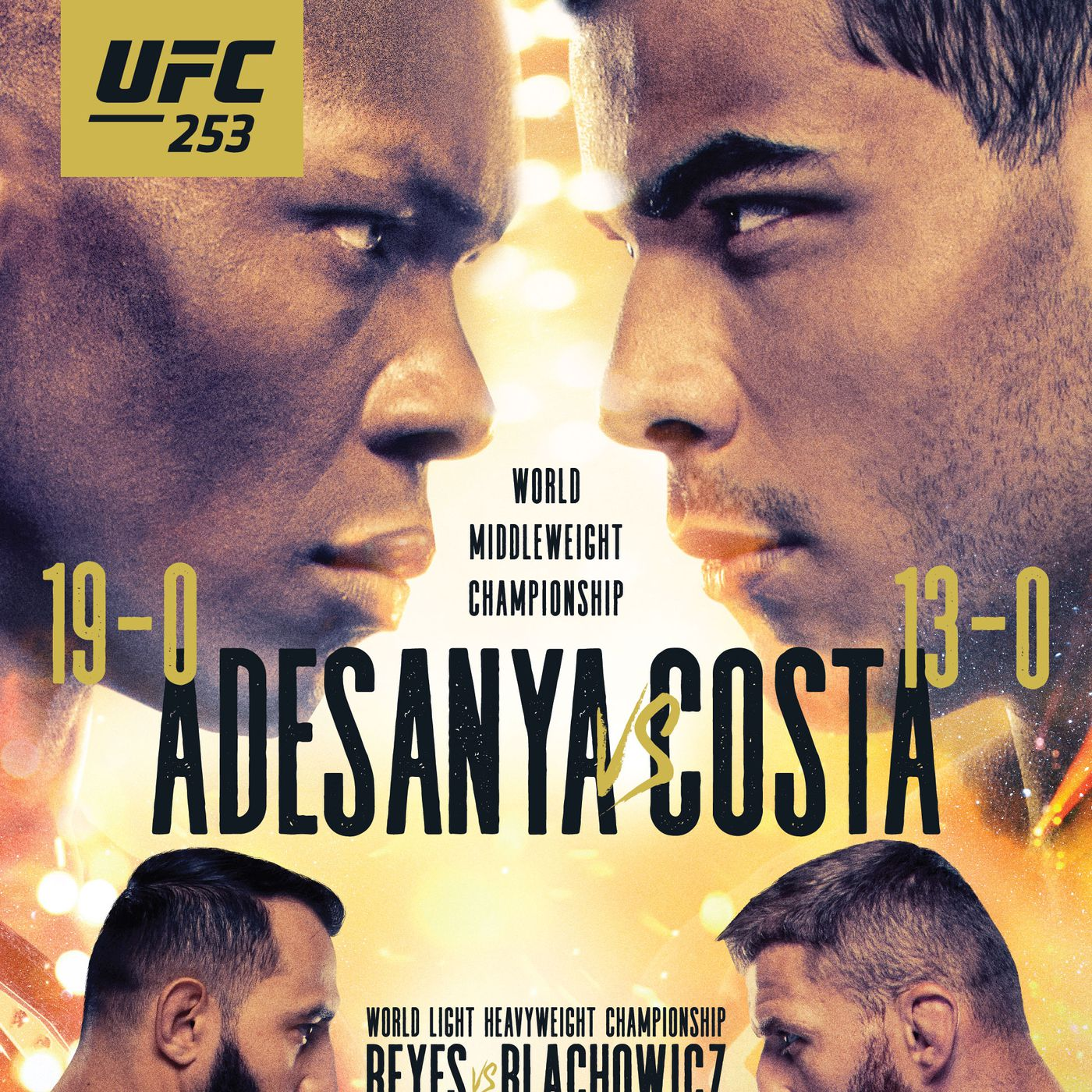 Pic Ufc 253 Poster Drops For Adesanya Vs Costa On Sept 26 On Fight Island Mmamania Com