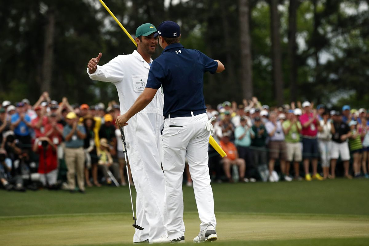 Jordan Spieth's caddie earned more than Tiger Woods and